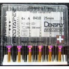 Dentsply Protaper Files Machine use 25 мм S1  A+ (оригинал) сиреневый A041002510100