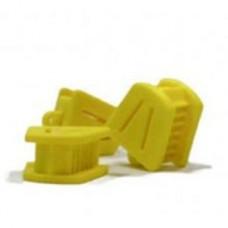 Блок прикусной (упаковка 1 шт) SMALL ЖЕЛТЫЙ  роторасширитель №1041