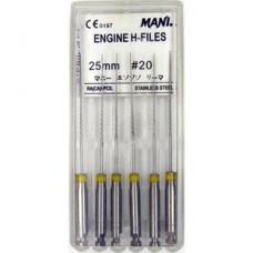 Mani Engine H-file 25мм ISO 20 A+