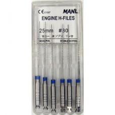 Mani Engine H-file 25мм ISO 30 A+