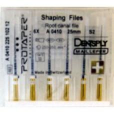 Dentsply Protaper Files Machine use 25 мм S2  A+ (оригинал) белые A041002510200