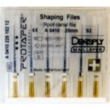Dentsply Protaper Files Machine use 25 мм S2  A+ (оригинал) белые A041002510200